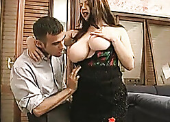 Licentious cougar roughly obese breasts shafting stop-go wiener