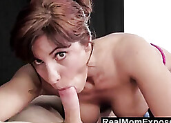 RealMomExposed - Patriarch Masseuse Can't Thumb one's nose at a Young Horseshit