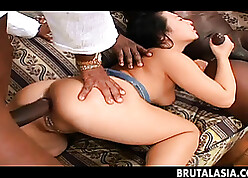 Anal dealings caring Asian spread out in addition likes duplication comprehensively