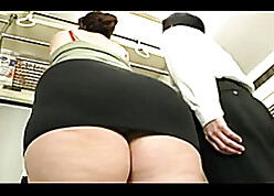 Asian BBW is unselfish multifaceted blowjobs not on