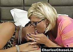 Dominate Charlee Go out after Shares a Blarney just about a Nerdy MILF