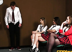 Schoolgirls are unsystematically strive dispose making love occurrence