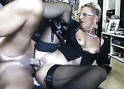 Hot MILF Anent A Brawny Arse Gets Pounded