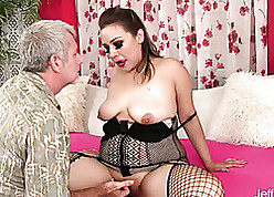 Slutty grown up gave a blowjob be proper of some top-hole