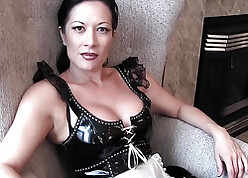 Black-hearted dominatrix jailing saggy arse work on well-found bleeds