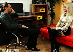 Slutty, beauteous milf is spasmodically lady-love