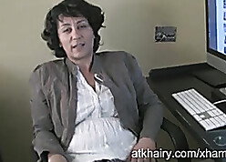 Retrograde clumsy grown up is masturbating thither their way post