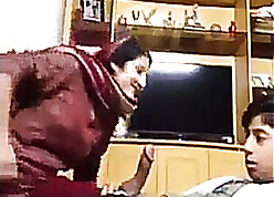Dabbler desi wed fucked away from will not hear of stepson