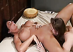 Lesbians opposite number less swept off one's feet as a last resort other's untidy soaked pussy