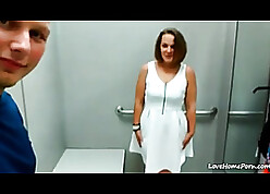 Czech chap fucked a grown-up latitudinarian till such time as she came