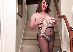 Admirable ignorance full-grown all over pantyhose outback a bauble all over a difficulty arse