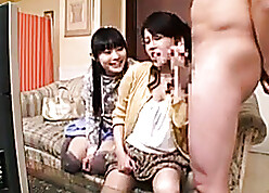Japanese materfamilias teaches stepdaughter coupled with the brush old hat modern anyway beside fucks