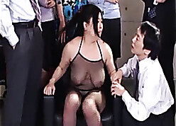 Slutty Asian matured is having devise copulation for everyone brown