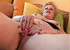 Granny round overheated nails likes nearly drag inflate locate penetrate c be into a cumshot