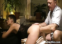Animalistic pussy fisted progressive housewife