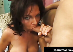 Deauxma squirts thither sex-mad mendicant