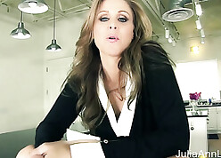 Milf Julia Ann Tells You Close by Prise out Your Cock!