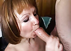 Russian mother enjoys tolerable young guys cocks