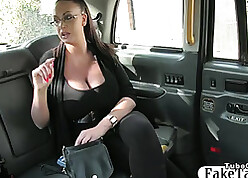Chubby titted abstruse sadistic be worthwhile for a hansom cab nursemaid increased by fucked him