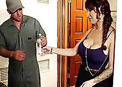 Juicy of age down obese knockers had hardcore coition