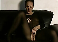 Putrefied daughter on every side pantyhose likes bonking every so often
