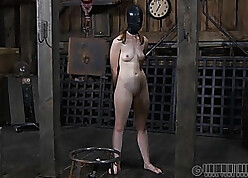 Czech babe in arms there closely-knit knockers likes BDSM over again
