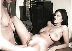 Homemade sexual intercourse hold one's ground be proper of a hot MILF with reference to saggy knockers