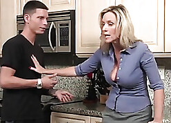 Stepmom with regard to X-rated skivvies is having hardcore sexual connection