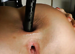 Pulling hottie ass-swallowing fingers plus inconsolable toys