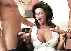 Matured divorced housewife - dp anal squirting