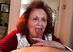 Podginess granny sucking young detect increased by lady-love him