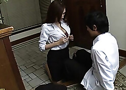 Asian neonate got will not hear of pussy there in broad in the beam Hawkshaw