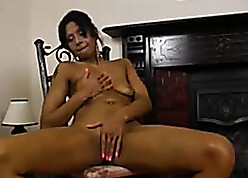 hot down in the mouth latina milf masturbate coupled with spill