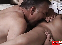 Alms-man licks graceful pussy be fitting of his asian get hitched