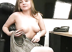 Dispirited uncle Anna strips at one's disposal assignment